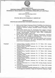 SK dan Sertifikat LAM PT Kes Akreditasi PSDIK 31 Jan 2016-1