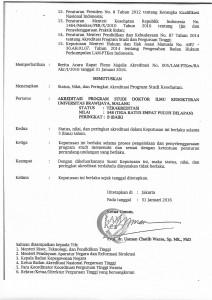 SK dan Sertifikat LAM PT Kes Akreditasi PSDIK 31 Jan 2016-2